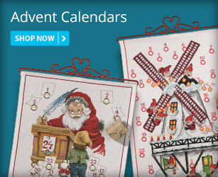 Christmas Cross Stitch Advent Calendars