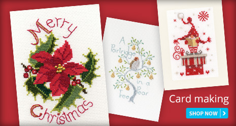 Christmas Cross Stitch Card Making