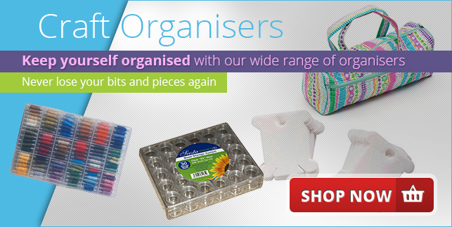 Craft Organisers - Keep yourself organised - Never lose your bits and pieces again