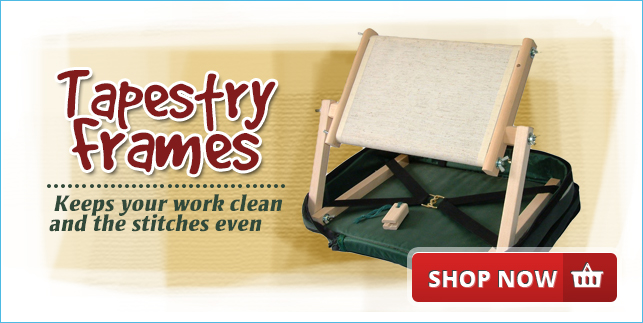 Tapestry Frames - Keeps your work clean and the stitches even