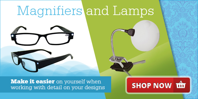 Magnifiers and Lamps - Make it easier on yourself when working in detail