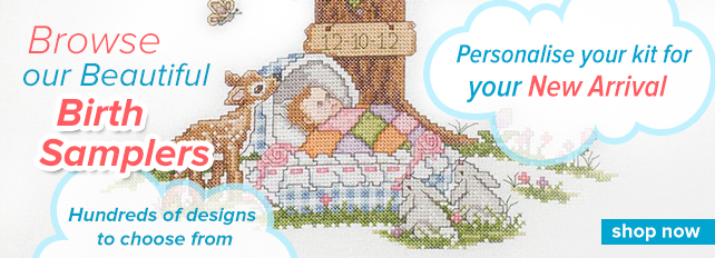 Browse Cross Stich Birth Samplers by Best Selling