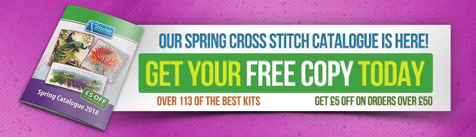 Stitcher Spring Catalogue 2018
