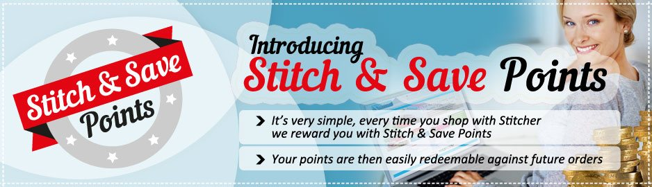 Stitch and Save - Collect Points and Save Money